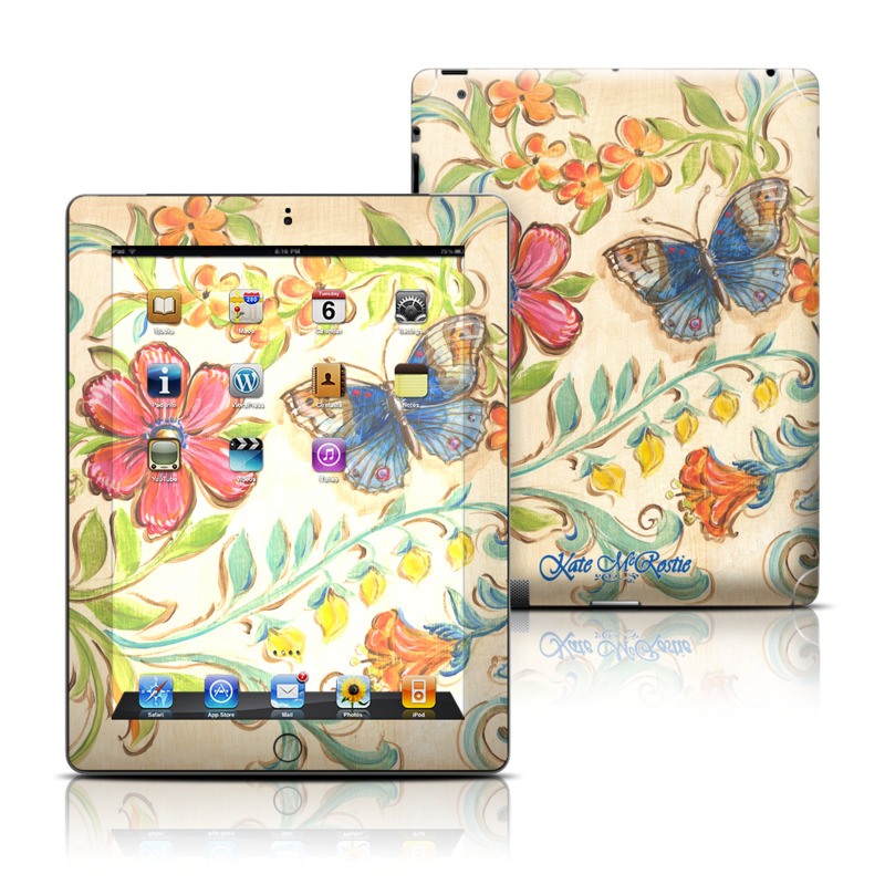 Garden Scroll Apple iPad Skin