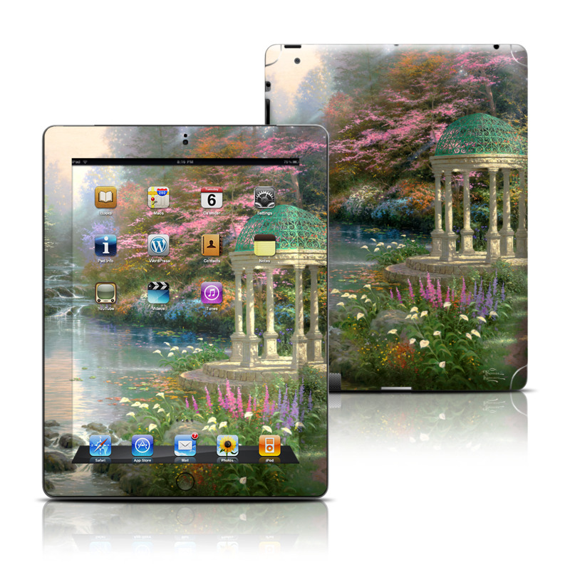 Garden Of Prayer Apple iPad Skin