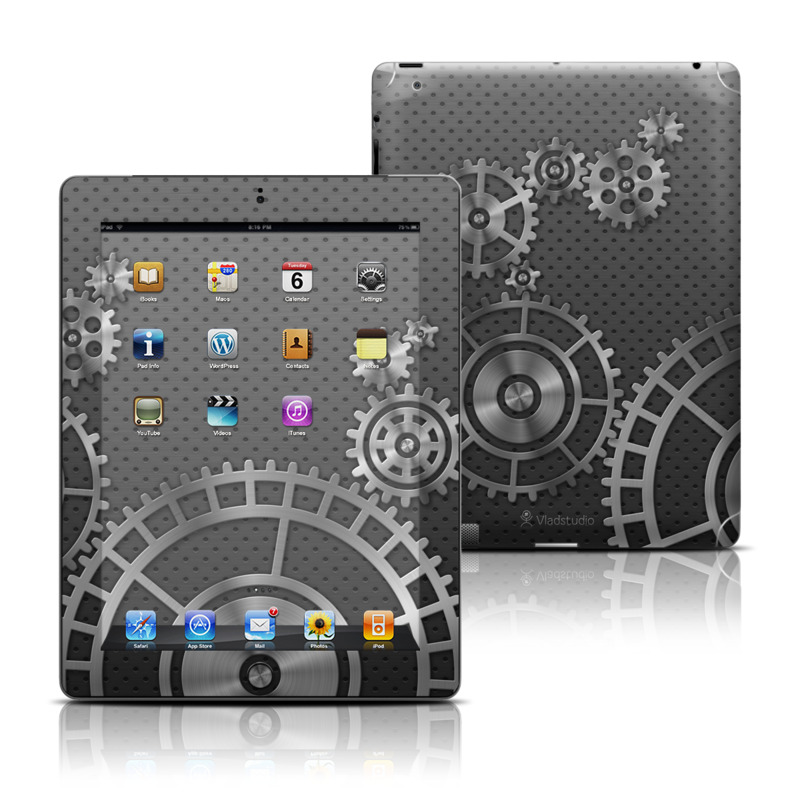 Gear Wheel iPad Skin
