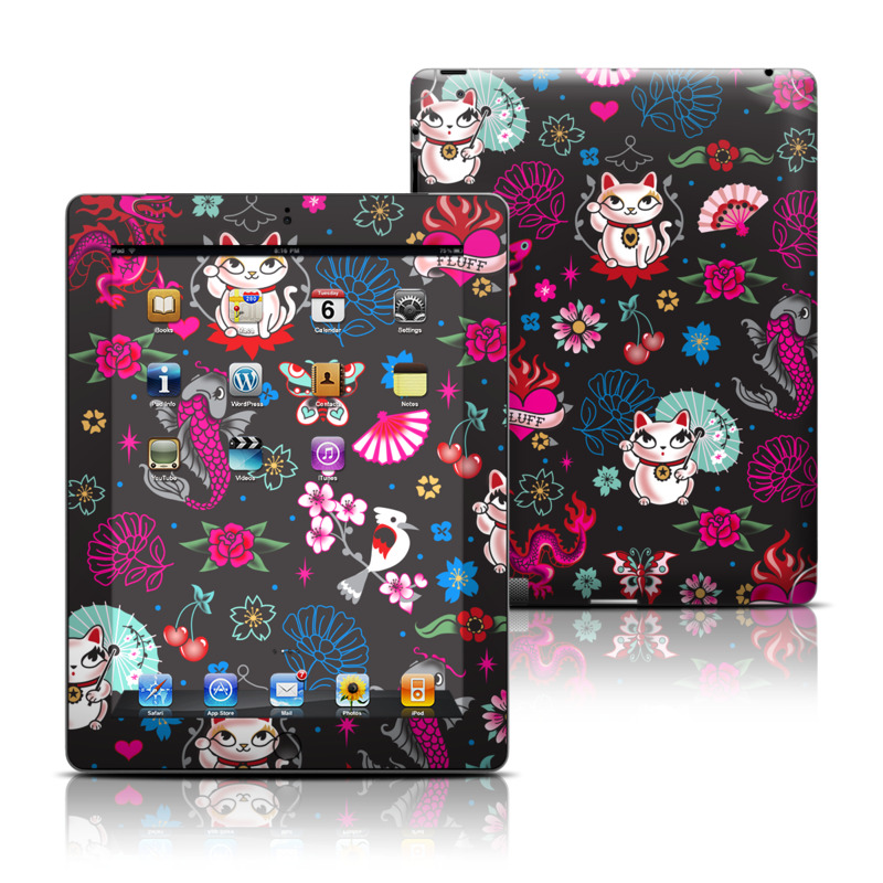 Geisha Kitty Apple iPad Skin