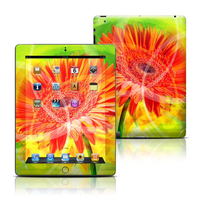 Gerbera iPad 3rd & 4th Gen Skin