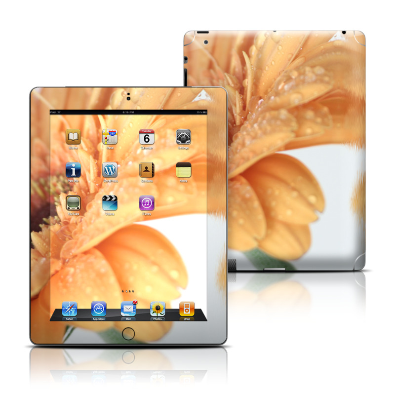 Golden Gerbera iPad Skin