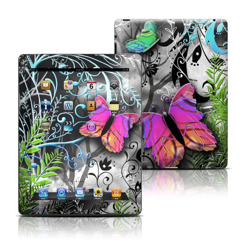 Goth Forest Apple iPad Skin
