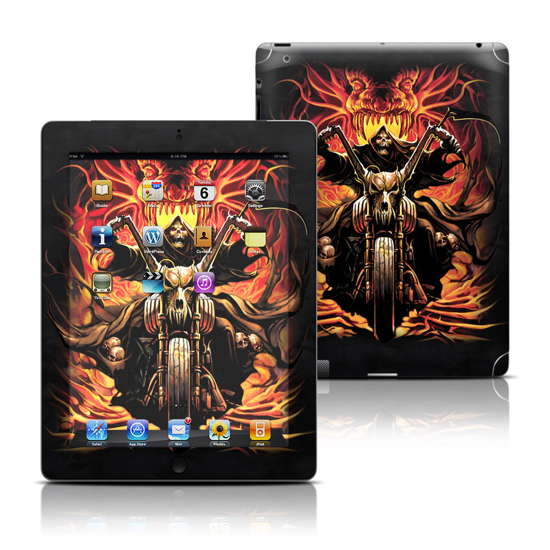 Grim Rider iPad 3rd & 4th Gen Skin
