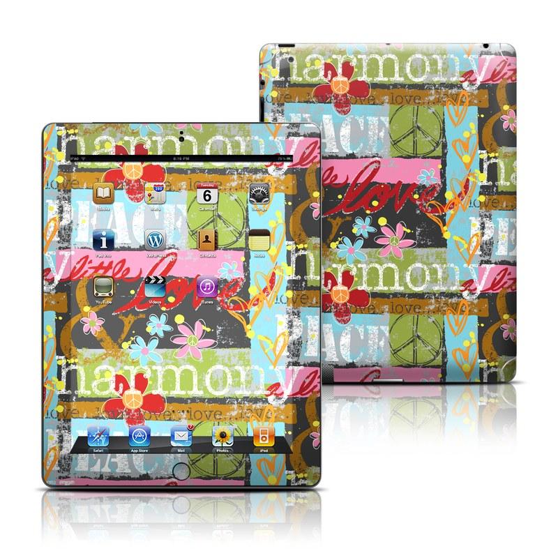 Harmony and Love iPad 3rd & 4th Gen Skin