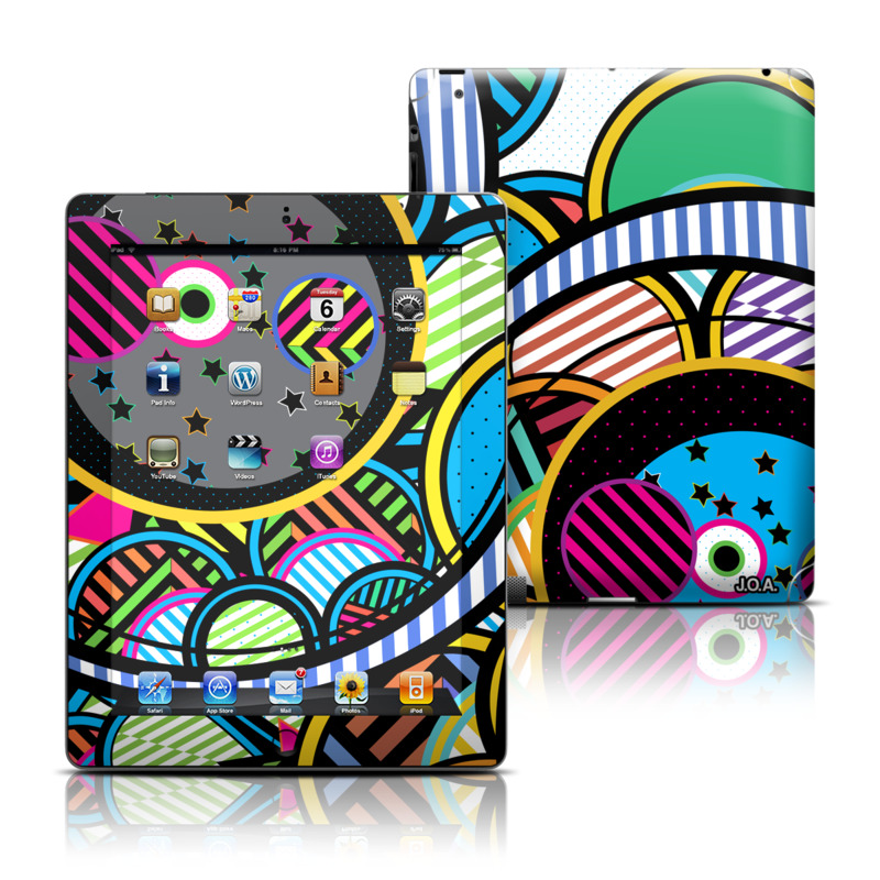 Hula Hoops iPad 3rd & 4th Gen Skin