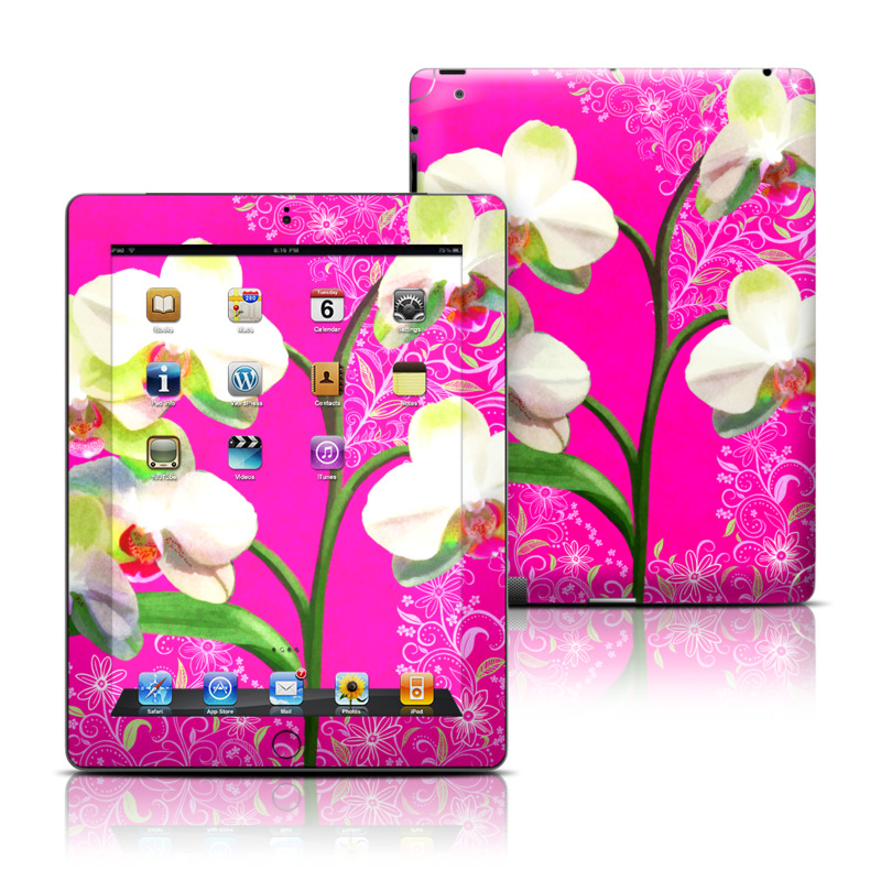 Hot Pink Pop iPad Skin