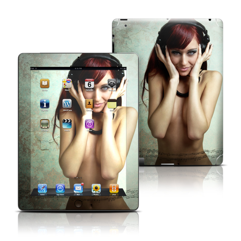 Headphones iPad Skin