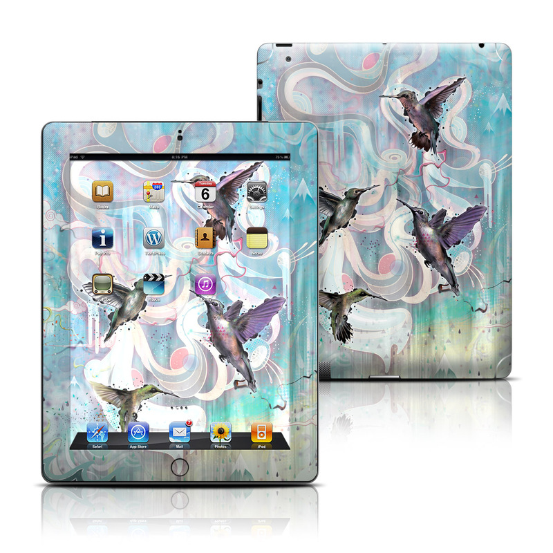Hummingbirds iPad 3rd & 4th Gen Skin