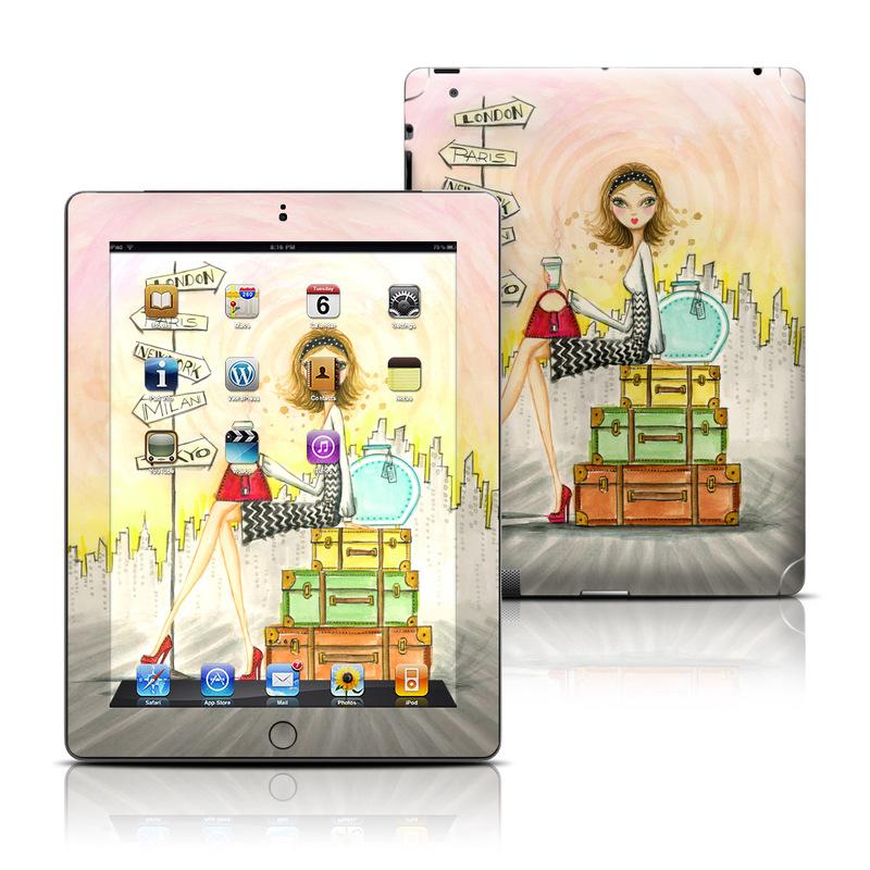 The Jet Setter iPad 3rd & 4th Gen Skin