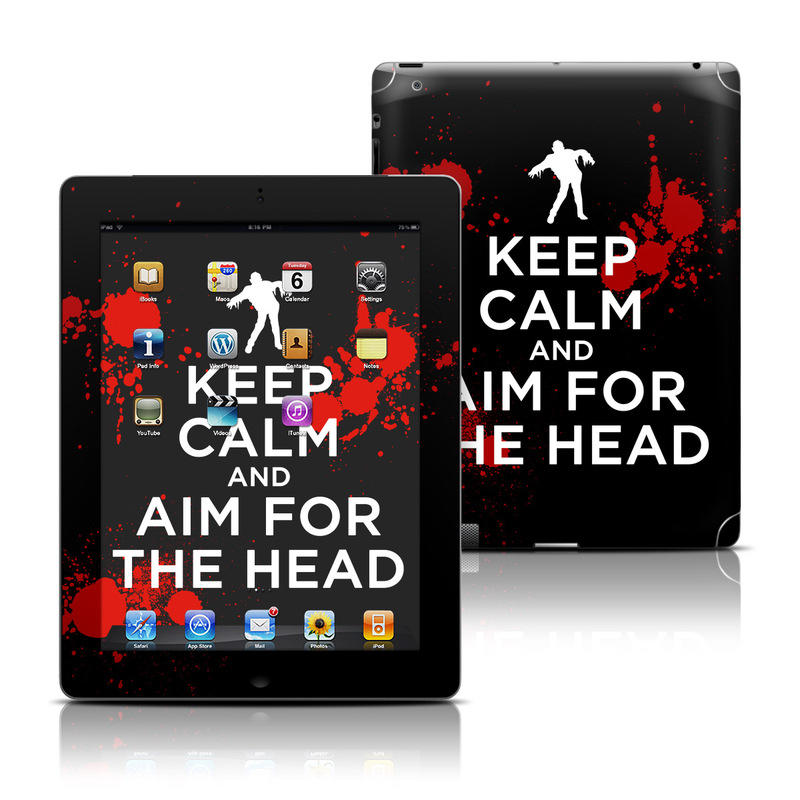 Keep Calm - Zombie iPad 3rd & 4th Gen Skin