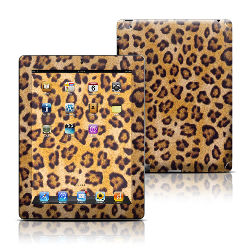 Leopard Spots Apple iPad Skin