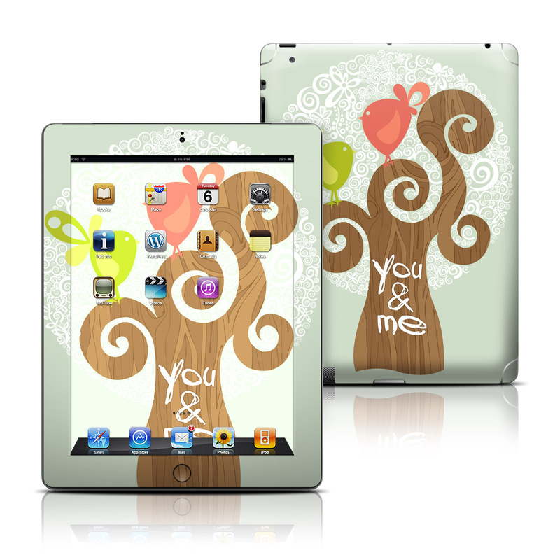 Two Little Birds iPad 3rd & 4th Gen Skin