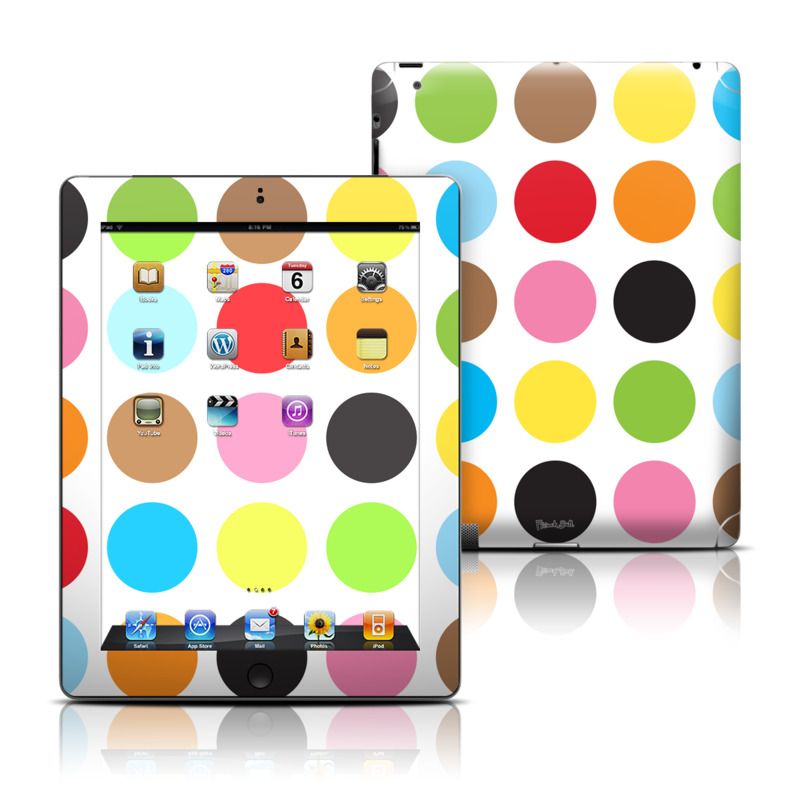 Multidot iPad Skin
