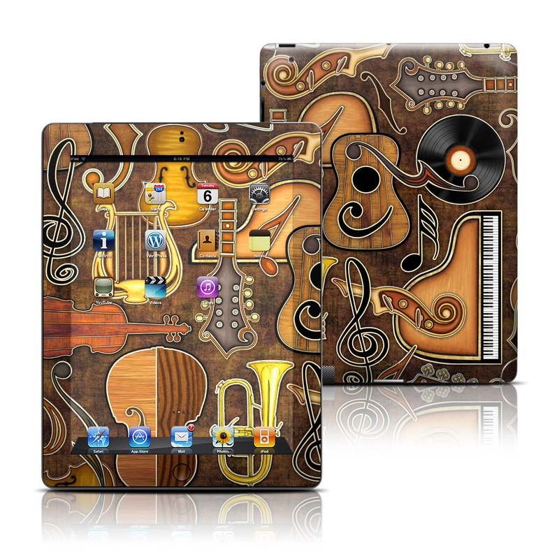 Music Elements iPad 3rd & 4th Gen Skin