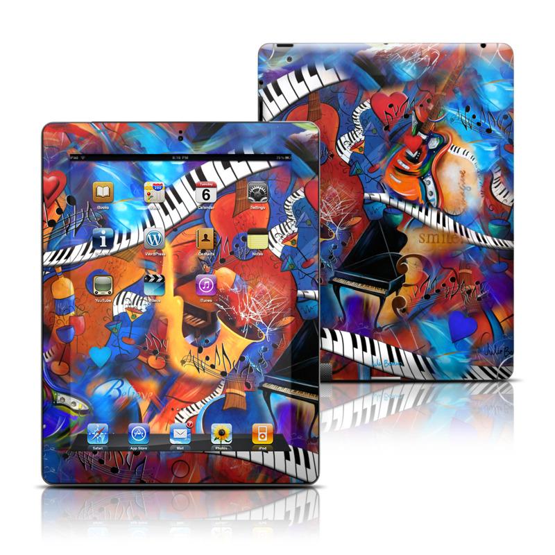 Music Madness iPad Skin
