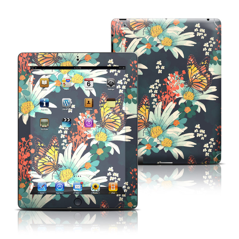 Monarch Grove iPad Skin
