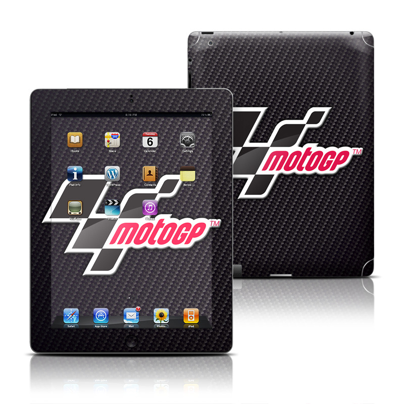 MotoGP Carbon Logo Apple iPad Skin