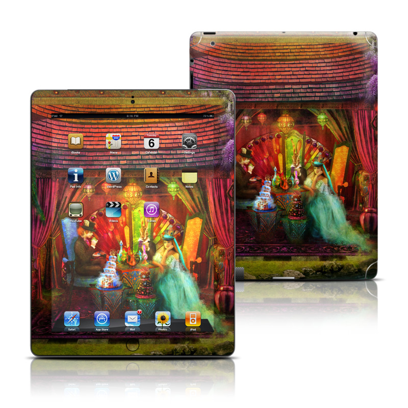 A Mad Tea Party iPad 3rd & 4th Gen Skin