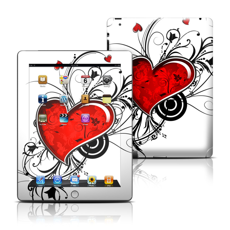 My Heart iPad 3rd & 4th Gen Skin