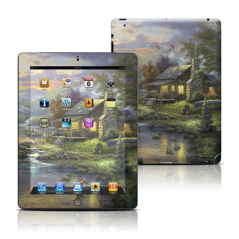 Natures Paradise iPad 3rd & 4th Gen Skin
