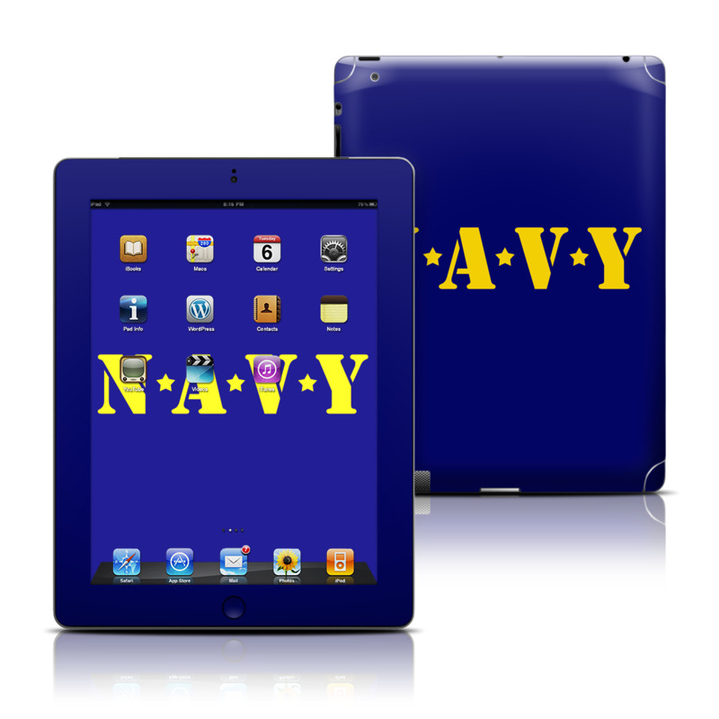 Navy iPad 3rd & 4th Gen Skin