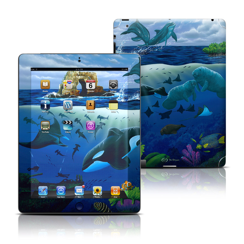 Oceans For Youth iPad Skin