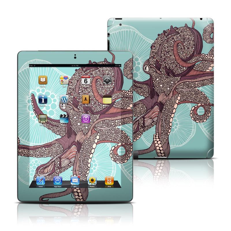 Octopus Bloom iPad Skin