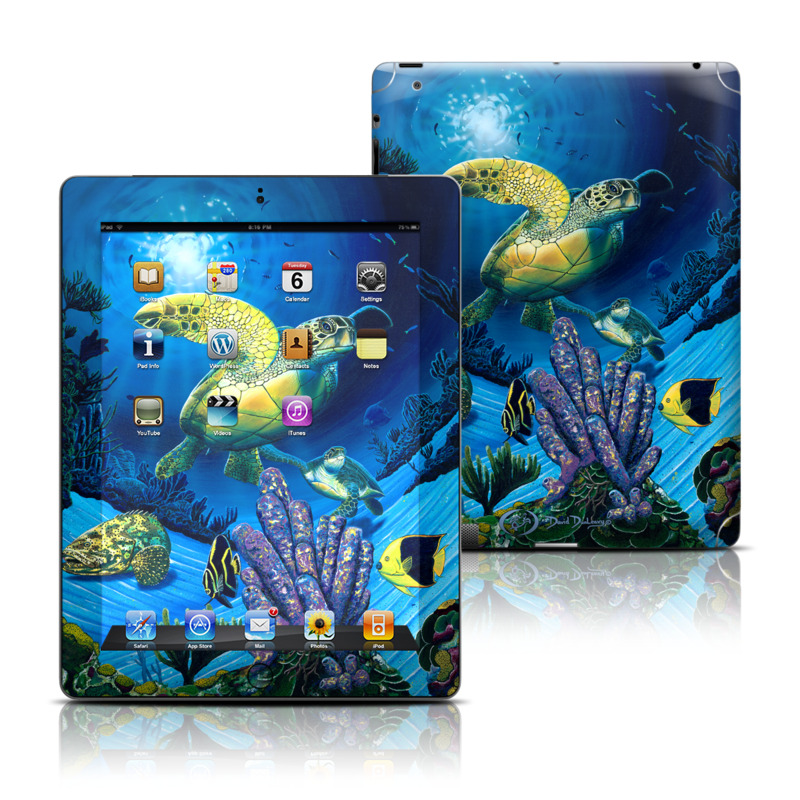 Ocean Fest iPad 3rd & 4th Gen Skin