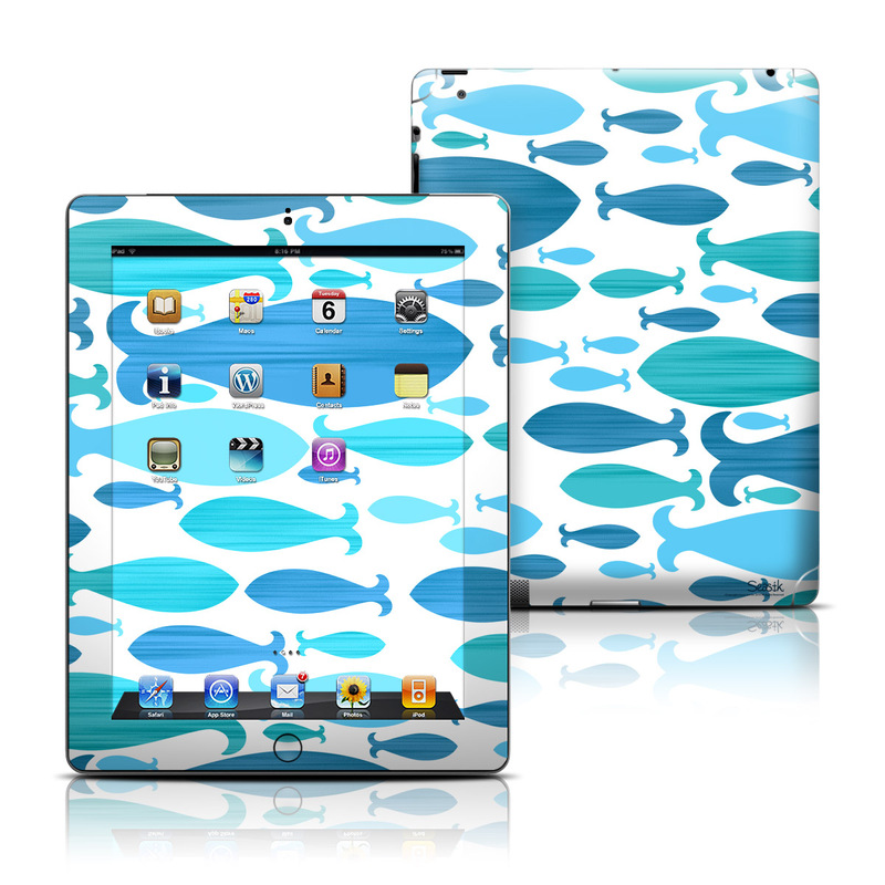 Ocean Rain iPad 3rd & 4th Gen Skin