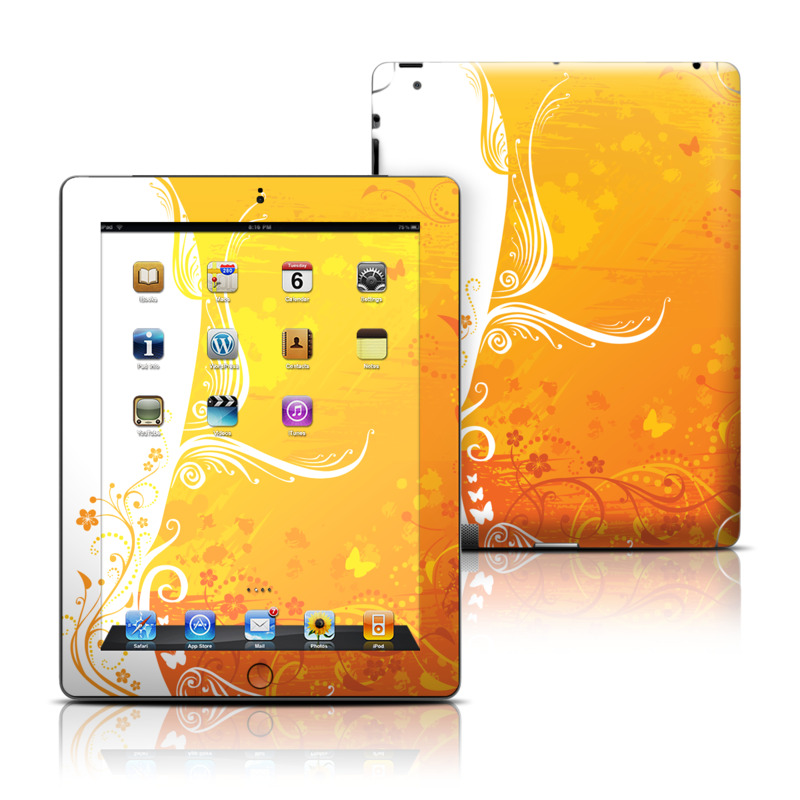 Orange Crush iPad 3rd & 4th Gen Skin