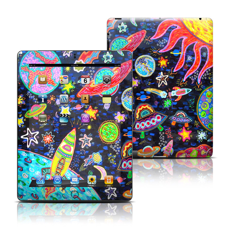 Out to Space iPad 3rd & 4th Gen Skin
