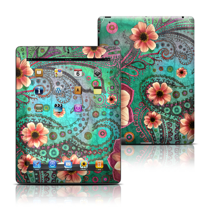 Paisley Paradise Apple iPad Skin