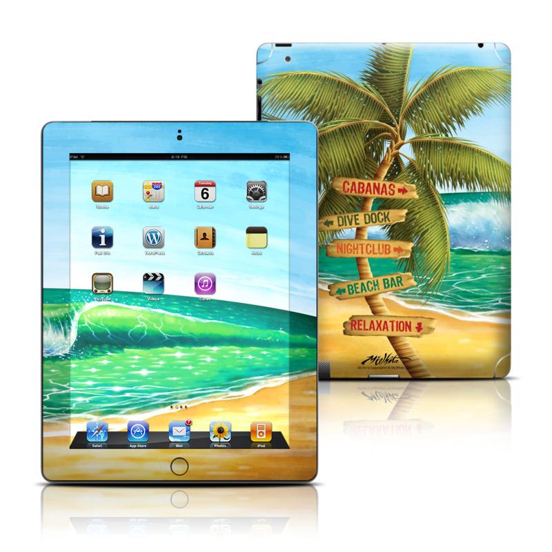 Palm Signs Apple iPad Skin