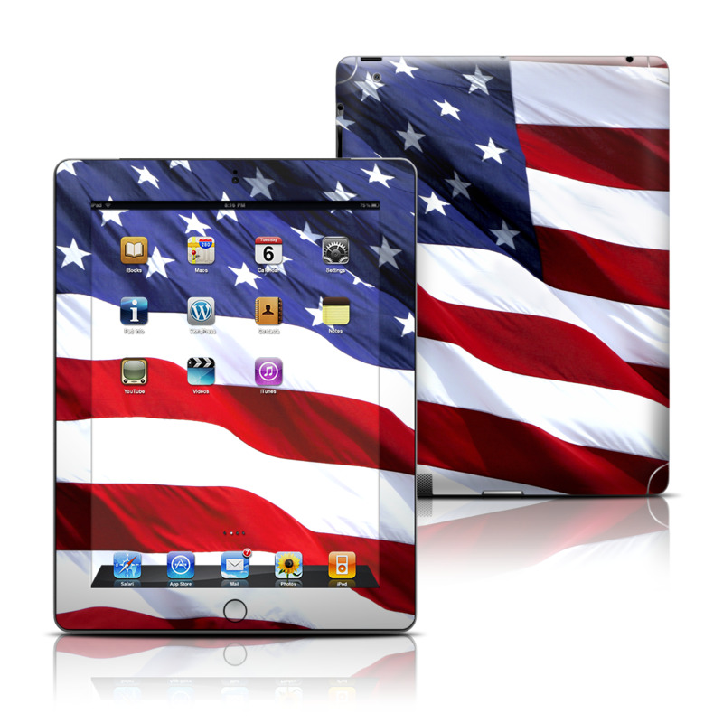 Patriotic iPad 3rd & 4th Gen Skin