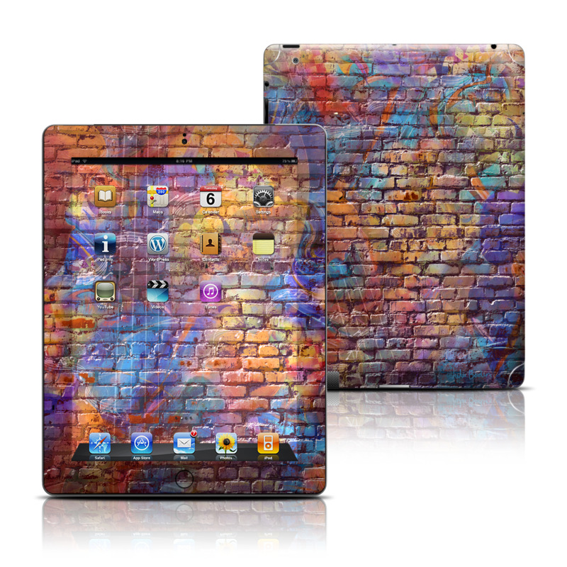 Painted Brick iPad 3rd & 4th Gen Skin