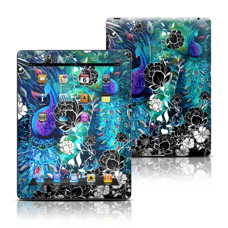 Peacock Garden iPad 3rd & 4th Gen Skin