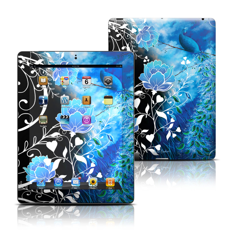 Peacock Sky Apple iPad Skin