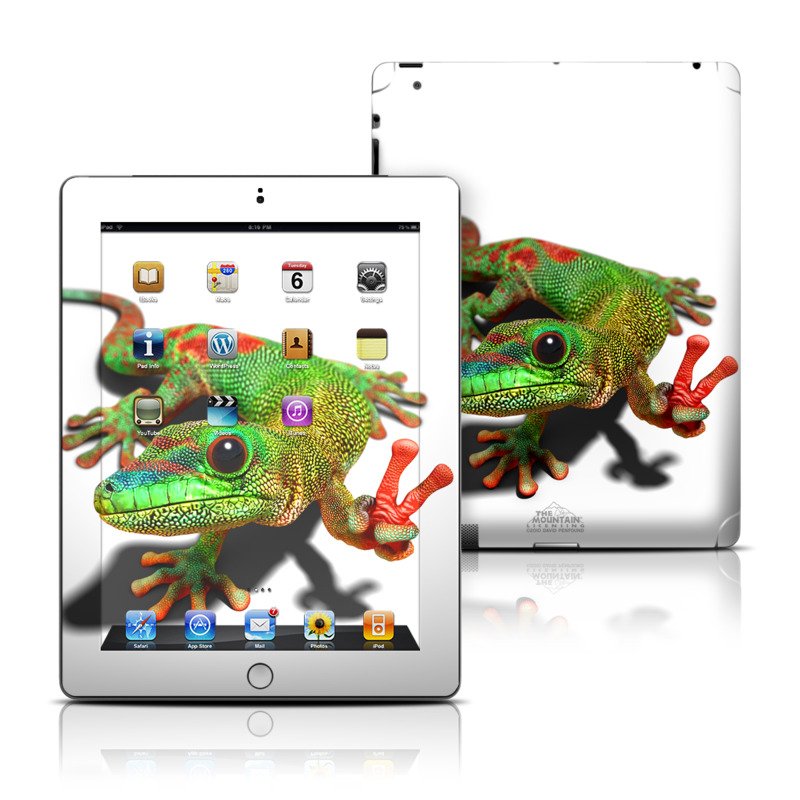 Peace Gecko iPad Skin