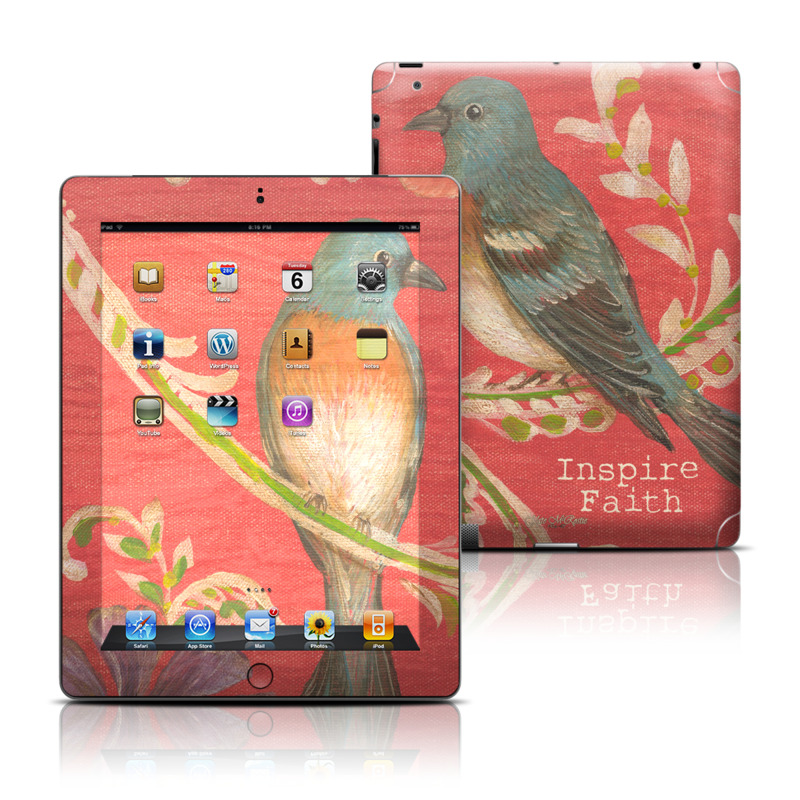 Fresh Picked Fuschia Apple iPad Skin
