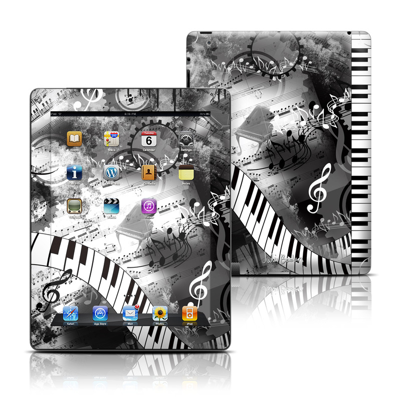 Piano Pizazz iPad 3rd & 4th Gen Skin