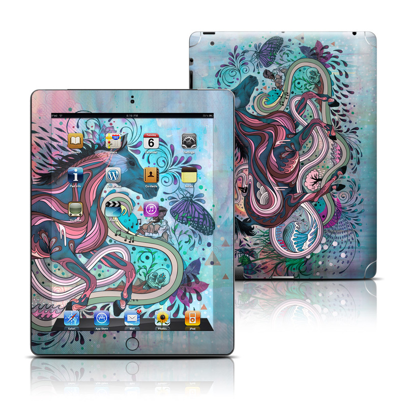 Poetry in Motion iPad 3rd & 4th Gen Skin