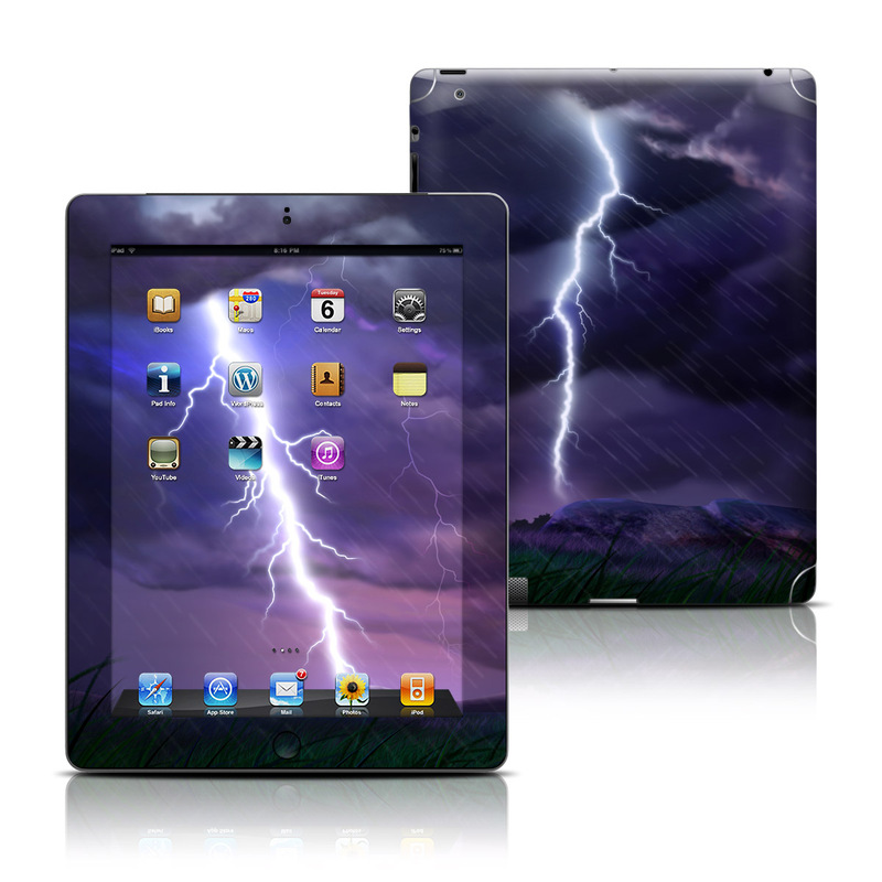 Purple Strike iPad 3rd & 4th Gen Skin