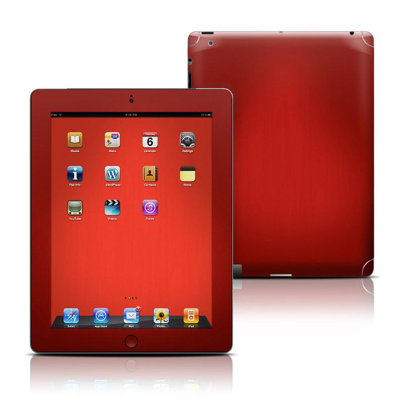 Red Burst iPad 3rd & 4th Gen Skin