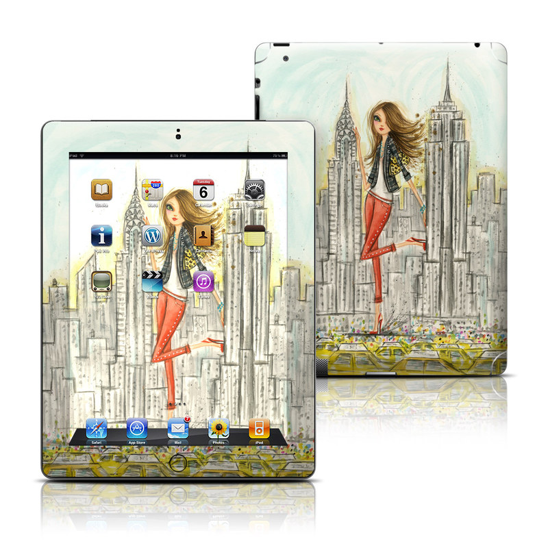 The Sights New York iPad Skin