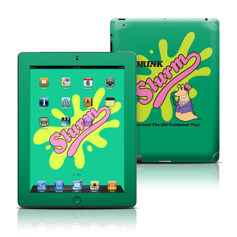Slurm Apple iPad Skin