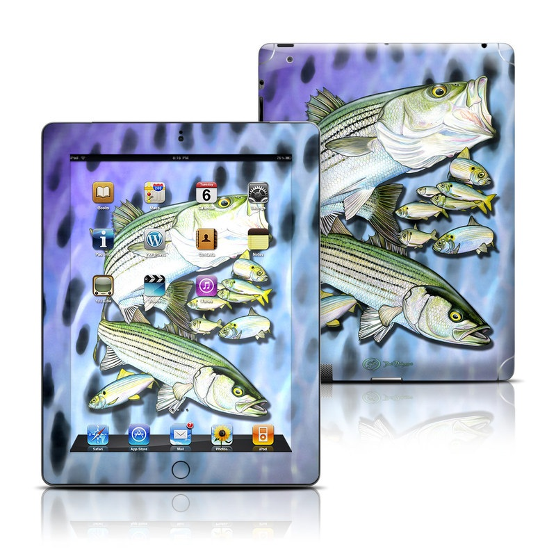Striped Bass iPad 3rd & 4th Gen Skin