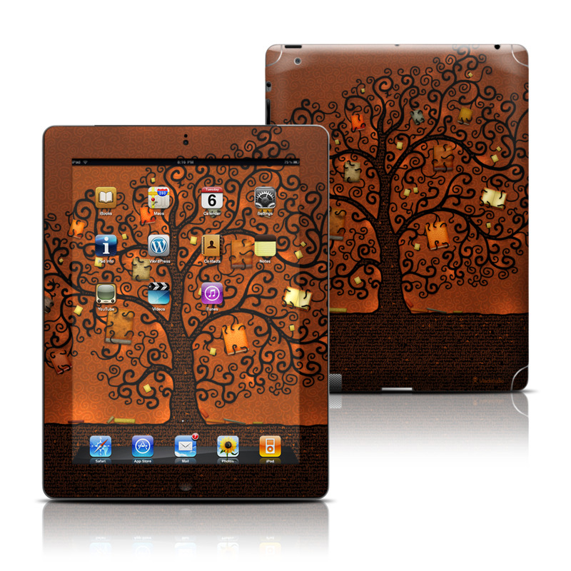 Tree Of Books iPad 3rd & 4th Gen Skin