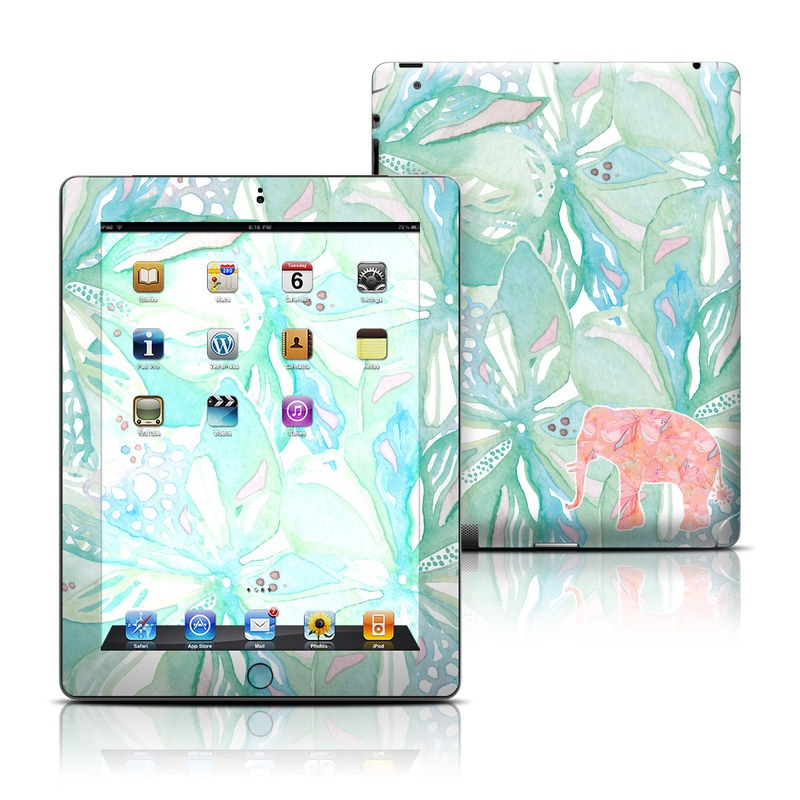 Tropical Elephant iPad 3rd & 4th Gen Skin