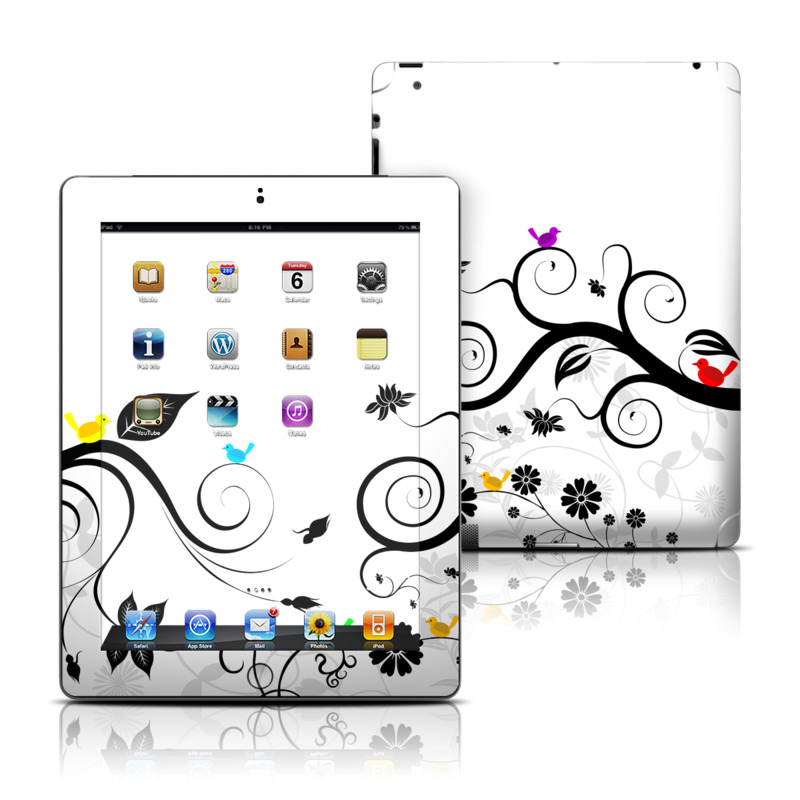 Tweet Light Apple iPad Skin